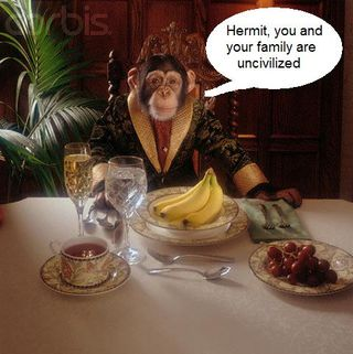Monkey civilized